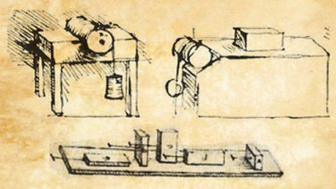 Da Vinci Tribology