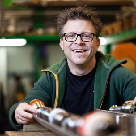 Daniel Ash, Adjunct Professor in Exploration Geophysics Photo: Tomas Bergman