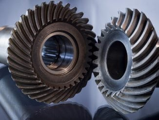 metallic glass gears