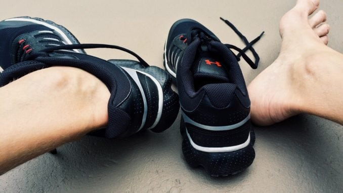 friction running blisters shoes