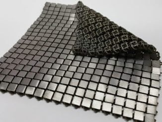 Space Fabric folded over