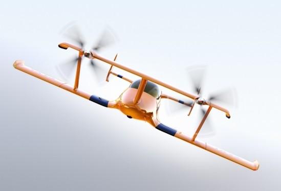 autonomous airplane concept