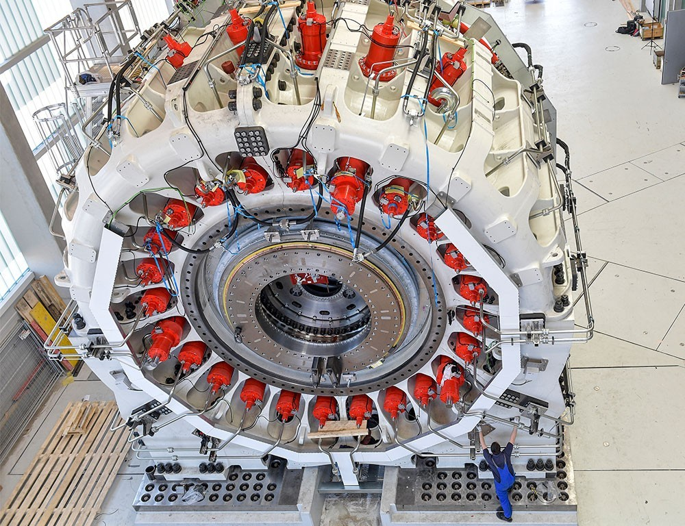 The largest test rig