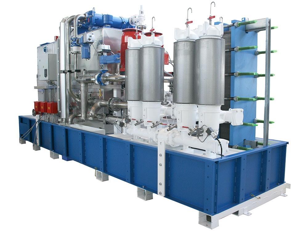 A unique lubrication system