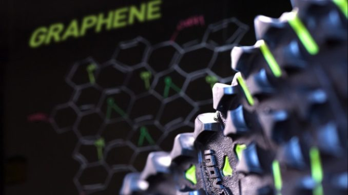 sports footwear with graphene