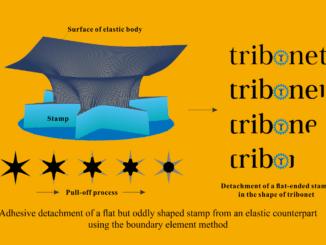 modeling tribonet logo detachment