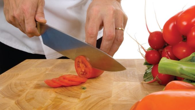 Sharp knife high friction