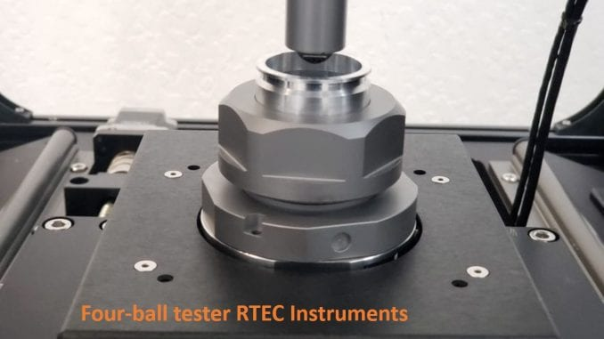 Four Ball Tester RTEC Instruments