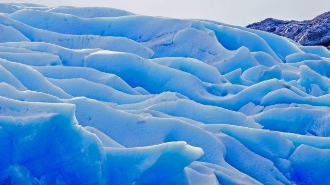 glaciers flow