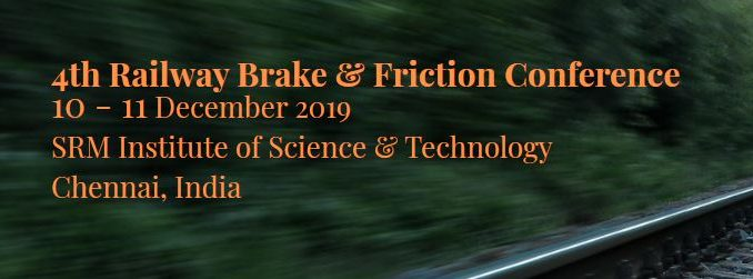 railway friction and break conference