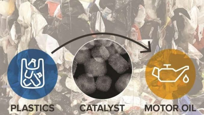 recycling plastic trash