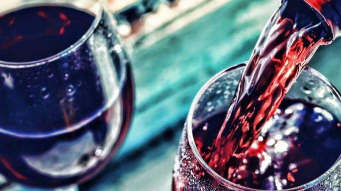 dry wine tasting